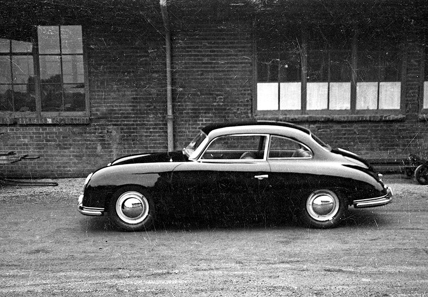 A prototype Porsche 530 four-seater from circa 1952/53
