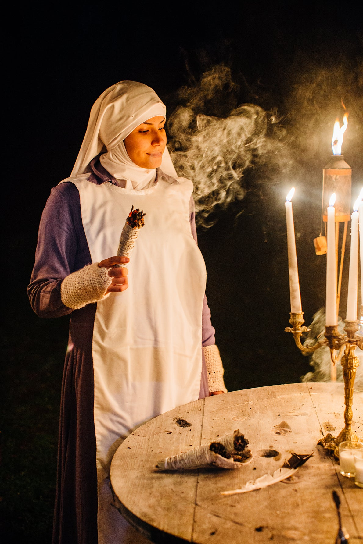 Weed Nuns On A Mission To Heal. Photo: Soraya Matos