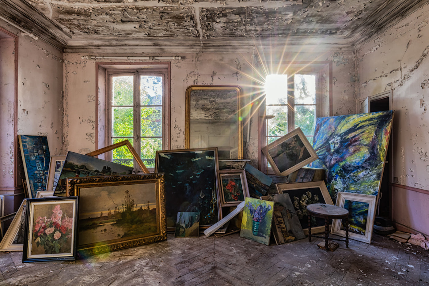 Abandoned Spaces by James Kerwin