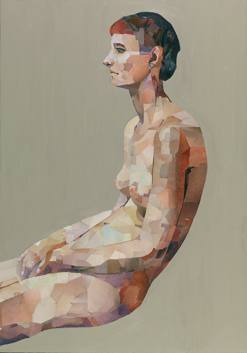 'S' PICTURE (Homage to Uglow) Jonathan Yeo. 42 × 59.5 cm 2008