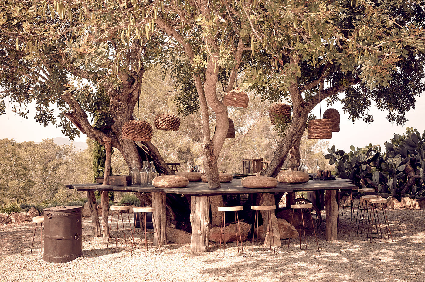 A Farmhouse Off The Bright Lights of Ibiza