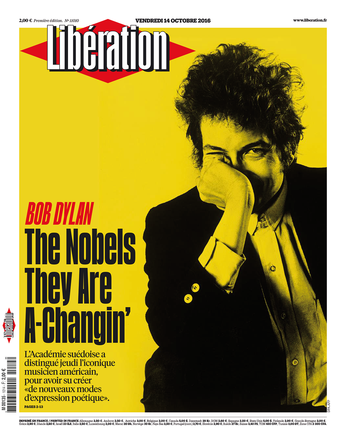 Love Affair with Typography Libération
