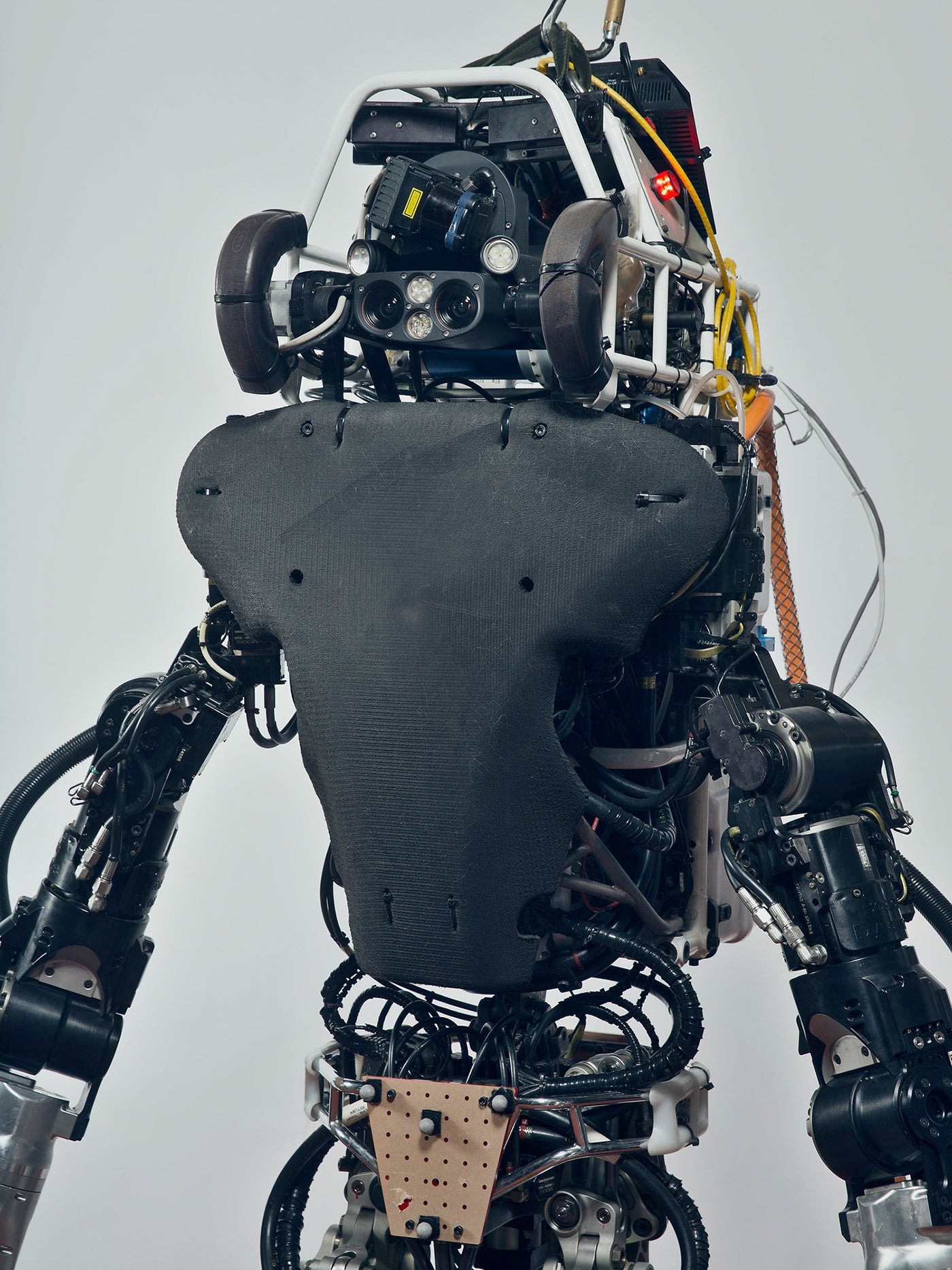 Atlas the robot. Designed to assist humans in responding to natural and human-made disasters. Photo by Mattia Balsamini
