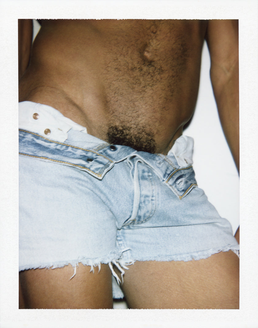 Polaroid by photographer Ferry van der Nat published in his book Mr