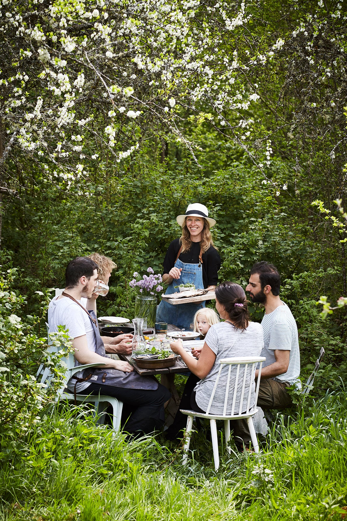 Finding Wellbeing in the Woods. Photo: Stine Christiansen, Farmlife by gestalten