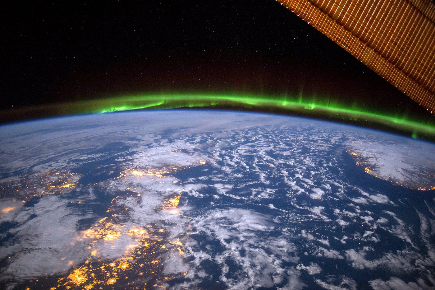 The Aurora over the UK and Ireland. Photo: Terry Virts