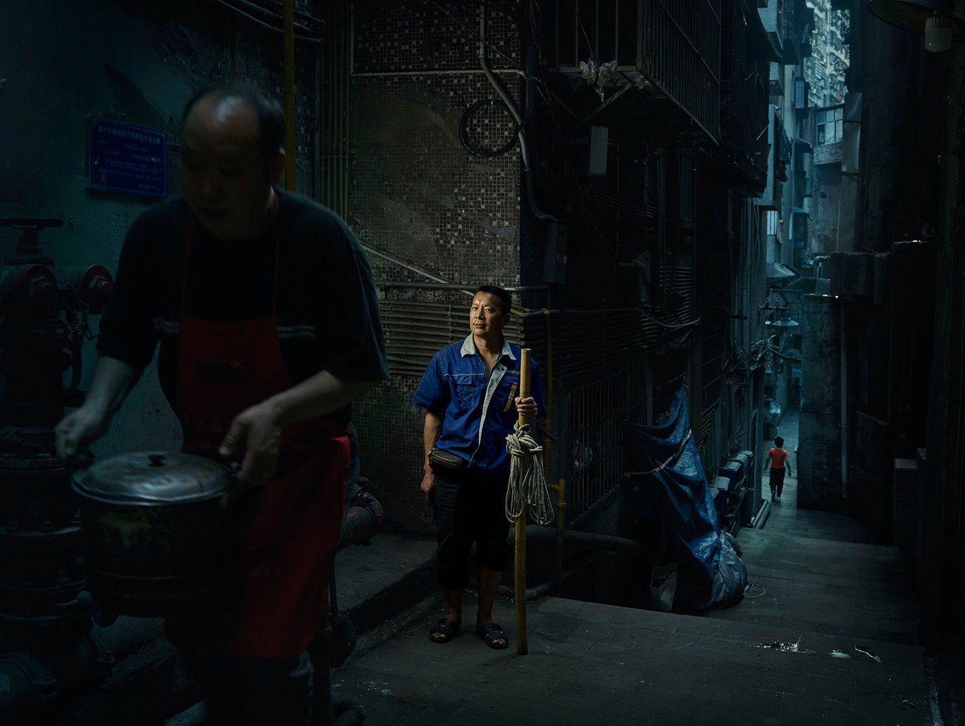 The Last Bang Bang Men of Chongqing by Ken Hermann