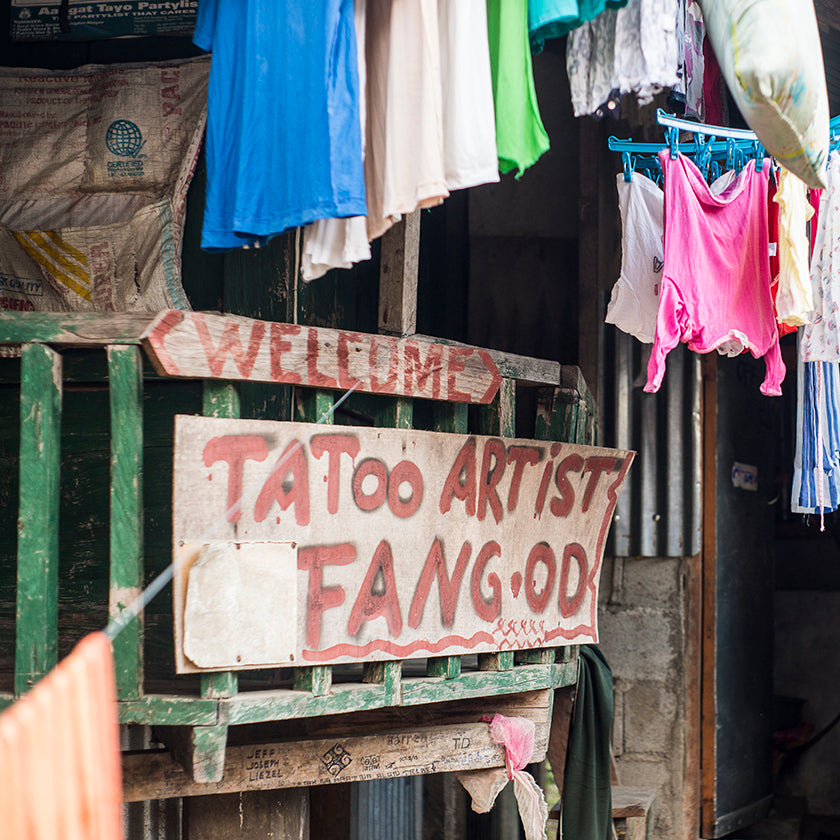 The Last Kalinga Tattoo Artist, The New Traditional published by gestalten, photo by Fred Wissink