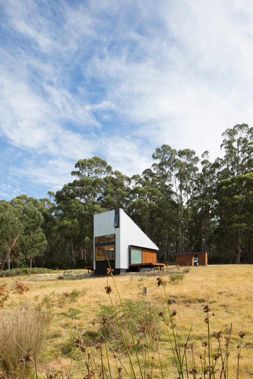 This cabin in Alonnah, Bruny Island, Tasmania is surrounded by 99 acres of forrest. (Photo: Rob Maver)