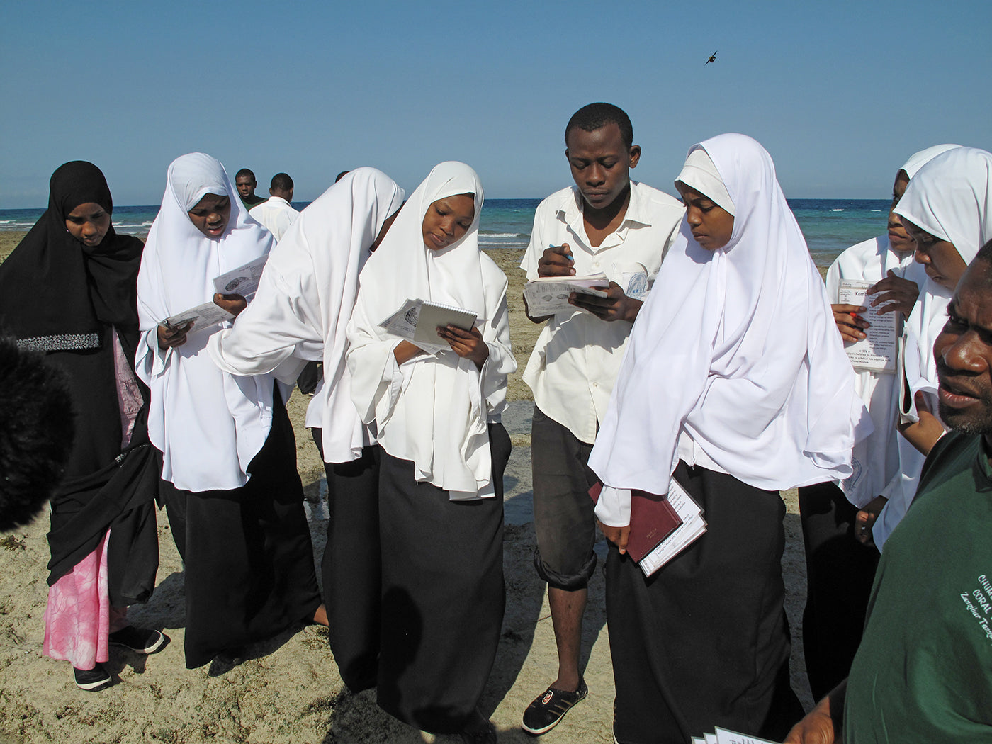 School children on Chumbe island