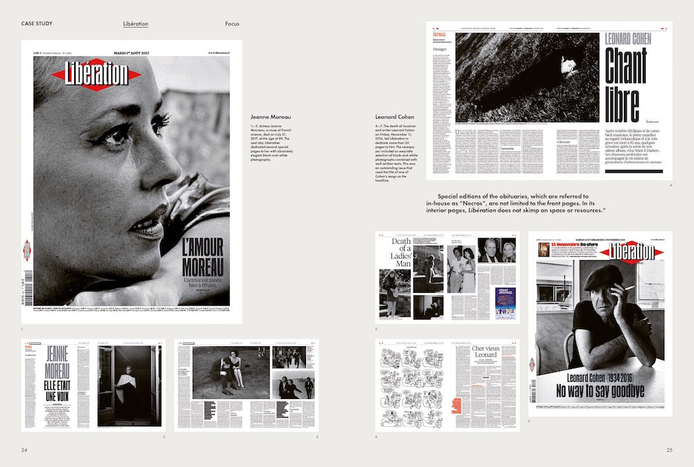 A spread taken from our new book Newspaper Design, co-edited by Javier Errea