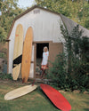 Tony's man cave-like shed houses enough perfectly preserved surf relics to fill a museum in Montauk, New York
