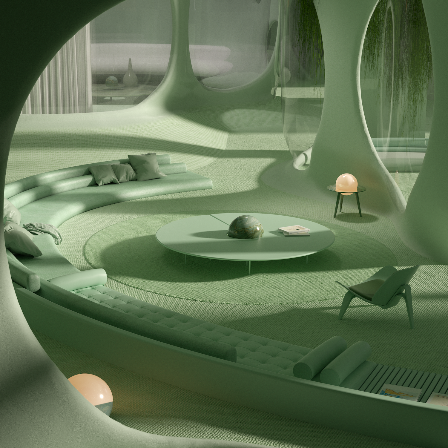 Dreamscapes Artificial Architecture Imagined Interior Design In Digital Art Gestalten