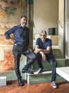 Diego Cisi and Stefano Gorni Silvestrini from Archiplan Studio in Mantua
