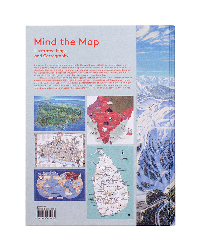 Mind The Map Illustrated Maps And Cartography Gestalten