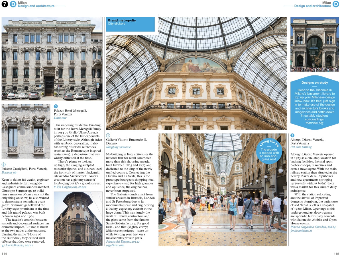 The Monocle Travel Guide Series The Monocle Travel Guide to Milan