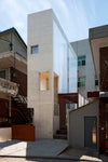 The Maxminimum building by Archium Architects is a fascinating project of vertical living in Seoul