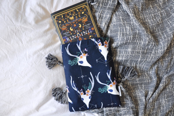 Deer Skulls Book Sleeve