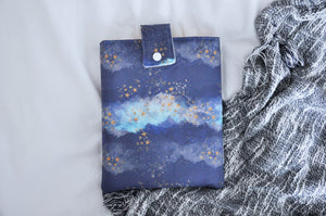 Watercolour Starry Sky Book Sleeve