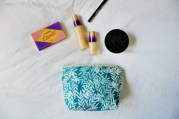 River Leaves Cosmetic Pouch
