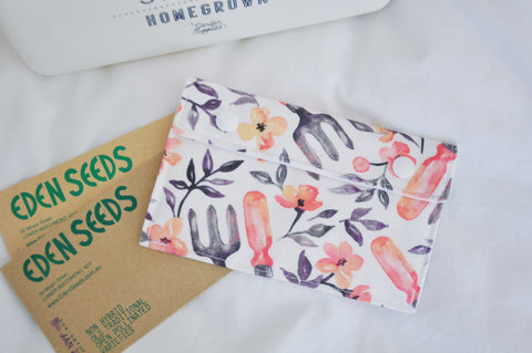 Spring Gardening Seed Pouch