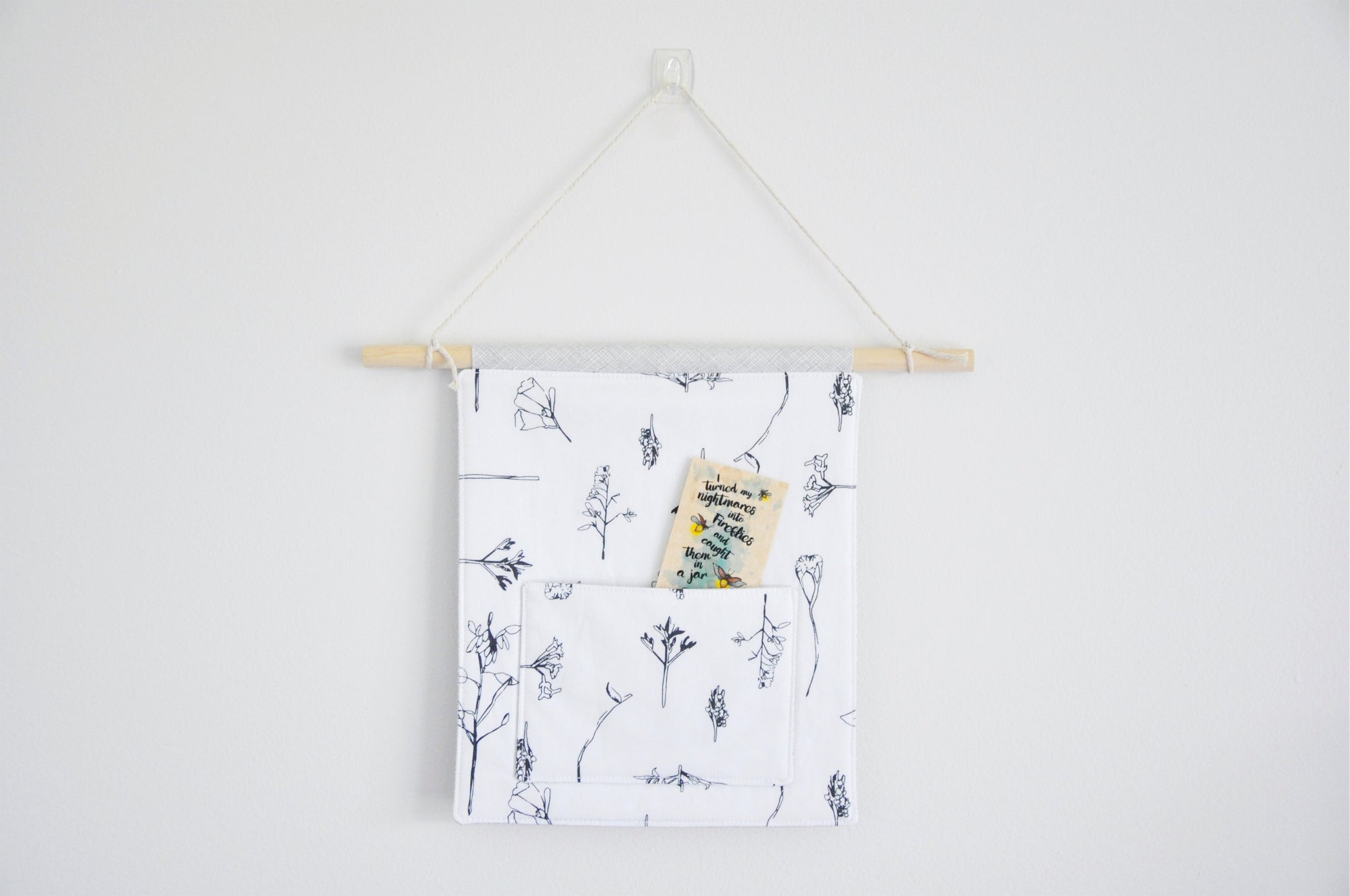 Floral Illustrations Pin & Bookmark Display Banner