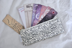 Bargain Bond (Ivory) Bookmark Pouch
