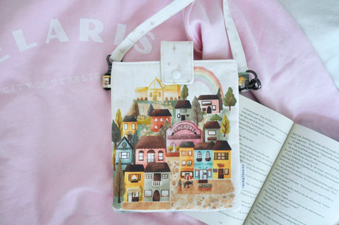 Rainbow of Velaris: The Artists' Quarter Book Bag