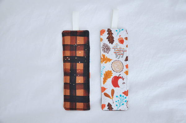 Fabric Bookmarks - 'Falling For Autumn' Edition