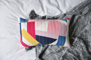 Quilted Cushion Cover 007