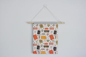 Cozy Reading Time Pin & Bookmark Display Banner