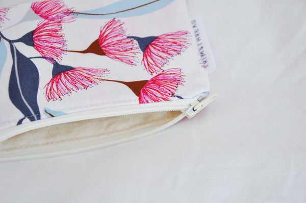 Gum Blossoms Coin Pouch