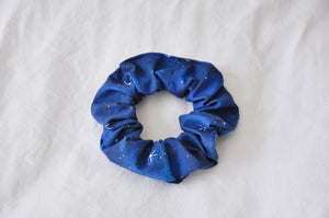 Navy Starry Night Scrunchie
