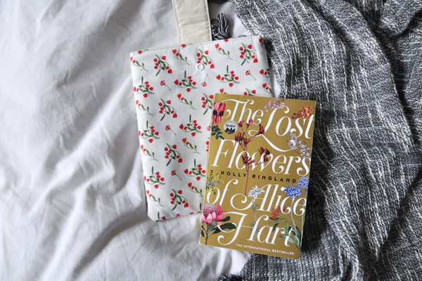 Dainty Wildflowers Book Sleeve