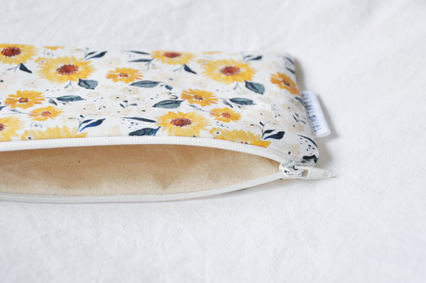 Sunflowers Zipper Pouch