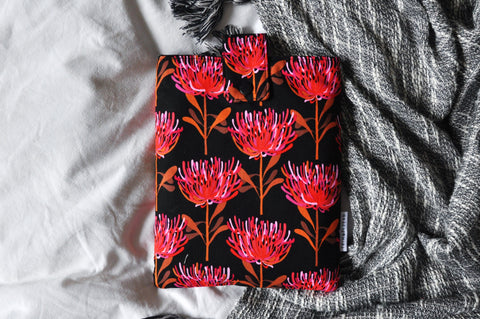 Waratah Book Sleeve