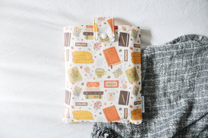 Cozy Reading Time Book Sleeve