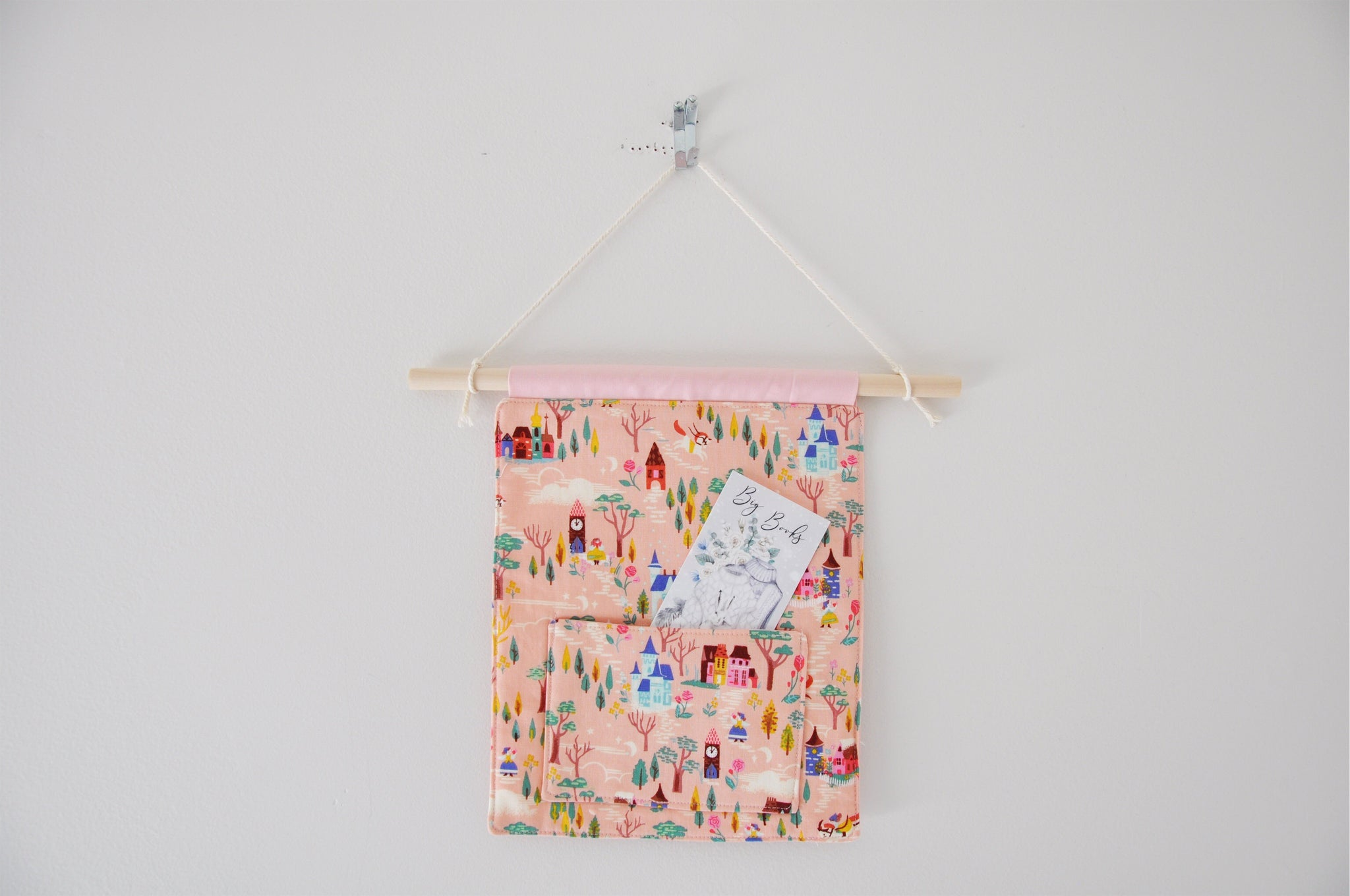 French Countryside Pink Pin & Bookmark Display Banner