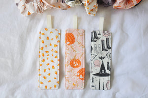 Fabric Bookmarks - 'Spooky & Sweet' Edition