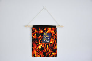 Fireheart Pin & Bookmark Display Banner