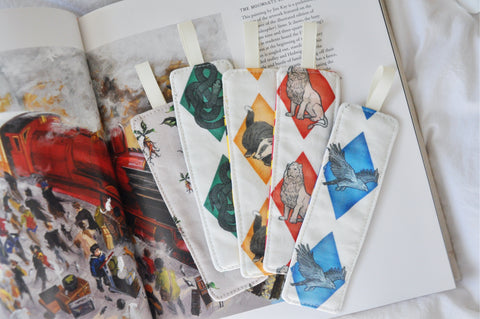 Reversible Bookmarks - 'School Of Magic' Edition