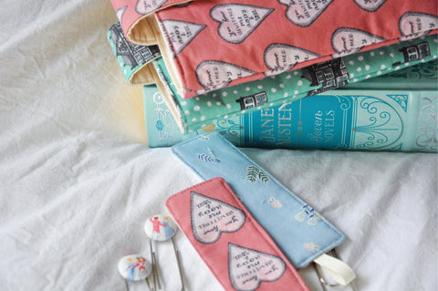 Fabric Bookmarks - 'Alice & Lizzy' Edition