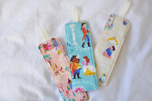 Fabric Bookmarks - 'Beauty & The Beast' Edition