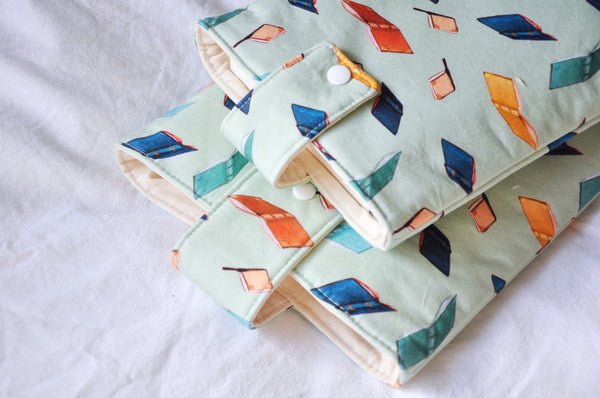 Scattered Books Mint Book Sleeve