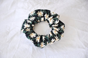 Pressed Flowers Scrunchie