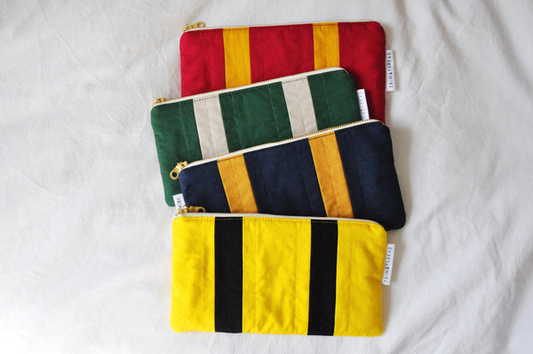 House Pride Quilted Zipper Pouch