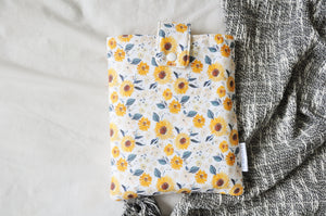 Sunflowers Book Sleeve