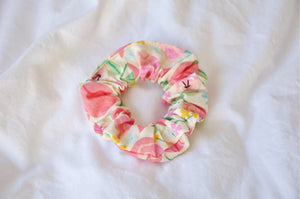 Rose Garden Cream Scrunchie