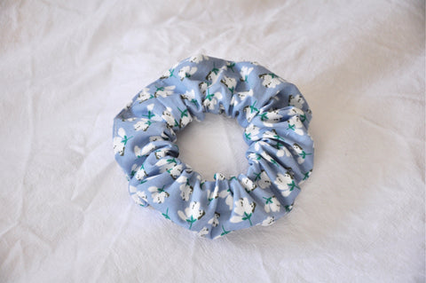 Mayfair Floral Scrunchie
