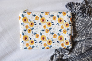 Sunflowers Kindle Pouch